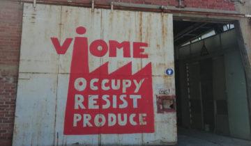 """""""Wie in der Militärdiktatur!"""" – Solidarität mit Vio.Me!"""